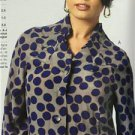 Vogue Sewing Pattern Todays Fit 1385 Misses Top Size A to J New