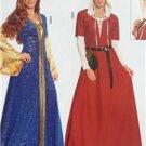 Burda Sewing Pattern 7468 Ladies Misses Middle Ages Dress & Bonnet Size 10-28 New