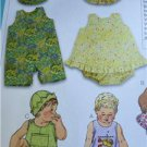 Kwik Sew Sewing Patterns 3035 Baby Infant Sundresses Bloomers Hats Size S-XL New