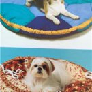 Kwik Sew Sewing Patterns 4020 Pet Dog Bed Two Sizes New