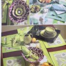 Butterick Sewing Pattern 5800 Waverly Napkins Table Runner Placemats Bowls New