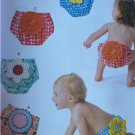 Kwik Sew Sewing Patterns 4052 Baby Infant Diaper Covers Size XS-XL New