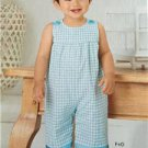 New Look Sewing Pattern 6274 Infant Baby Romper Hat Size NB-L New