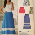 New Look Sewing Pattern 6287 Ladies Misses Skirt Size 10-22 New