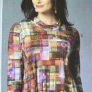 Butterick Sewing Pattern 6136 Misses Ladies Tunic Size XS-M 4-14 New Tilton