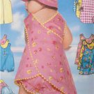 Butterick Sewing Pattern 5625 Baby Infant Jumpsuit Romper Top Hat Size NB-MD New