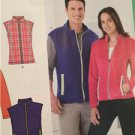 New Look Sewing Pattern 6251 Mens Misses Jackets & Vest Size 8-18 / XS-XL New