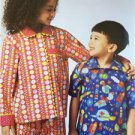Kwik Sew Sewing Patterns 3945 Childs Boys Girls Pajamas Size XS-XL New