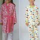 Kwik Sew Sewing Patterns 4131 Childs Boys Girls Pajamas Size XS-XL New