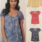 New Look Sewing Pattern 6891 Ladies Misses Easy Pullover Tops Sizes 10-22 New