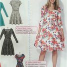 McCalls Sewing Pattern 7313 Ladies Misses Dresses Size 18W-24W New