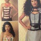 Butterick Sewing Pattern 6151 Ladies Misses Corset Vest Belt Size 14-22 New