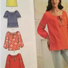 New Look Sewing Pattern 6267 Misses Pullover Top Two Lengths Size XS-XL New