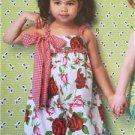 ** Ellie Mae Designs Sewing Pattern K0174 Toddler Girl Sweetie PIe Romper 1-4
