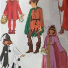 Butterick Sewing Pattern 4319 Girls Boys Robin Hoods Devil Riding Size S-XL New