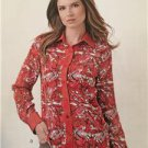 New Look Sewing Pattern 6232 Ladies Misses Mens Shirts Size 8-18 / XS-XL New