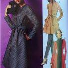 Butterick Sewing Pattern 5966 Ladies Misses Jacket Coat Belt Size 18W-24W New