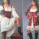 Butterick Sewing Pattern 6114 Misses Ladies Aye Matey Pirate Dress Vest 6-14 New