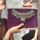 Vogue Sewing Pattern Kathryn Brenne 9164 Misses Three Clutch Bags Size O/S New