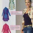 McCalls Sewing Pattern 7055 Misses Ladies Vest Cardigans Size 16-26 L-XXL New