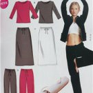 McCalls Sewing Pattern 4261 Misses Jacket Tops Pants Skirt Bag Size 16-22 New