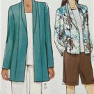 Vogue Sewing Pattern Very Easy Vogue 9011 Misses Jacket Short Pant Size XS-M New