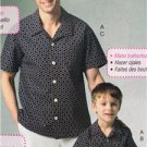 McCalls Sewing Pattern 6972 Mens Shirts Shorts Pants Size 34-48 New