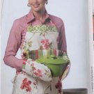 Butterick Sewing Pattern 5660 Waverly Apron Seat Cushions Kitchen Essentials New