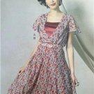 Vogue Sewing Pattern Kathryn Brenne 9168 Misses Dress Belt Slip Size 14-22 New