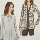 Vogue Sewing Pattern Very Easy Vogue 9151 Misses Tunic Size L-XXL New