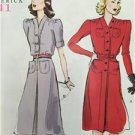 Butterick Sewing Pattern 6282 Misses/Ladies Retro '41 Dress Belt Size 16-24 New