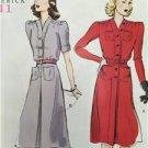 Butterick Sewing Pattern 6282 Misses/Ladies Retro '41 Dress Belt Size 16-24 New