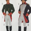 Burda Sewing Pattern 2471 Mens Napoleon Size 36-48 New
