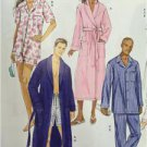 Butterick Sewing Pattern 5537 Misses/Ladies Mens Robe Belt Top Size XL-XXXL New