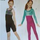 Kwik Sew Sewing Patterns 3887 Girls Childs Unitard Size 4-14 XS-XL New