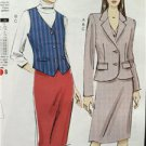 Vogue Sewing Pattern Very Easy Vogue 9138 Misses Jacket Vest Skirt Size 6-14 New