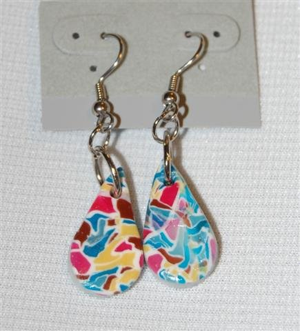 Handmade Polymer Clay Earrings - set 2