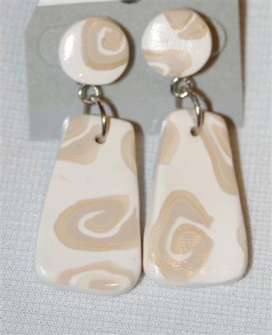 Handmade Polymer Clay Earrings - set 3