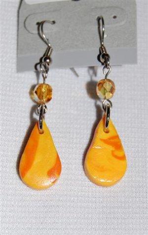 Handmade Polymer Clay Earrings - set 5
