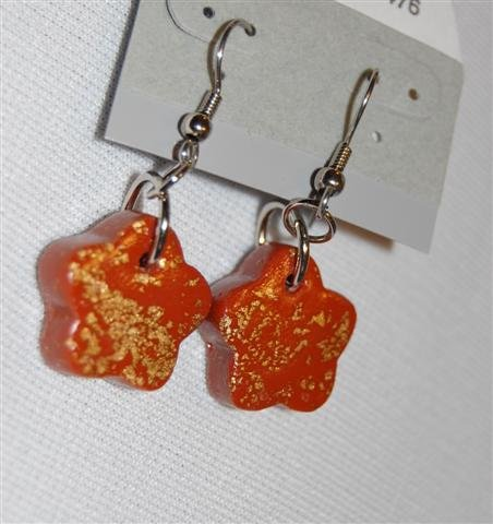 Handmade Polymer Clay Earrings - set 7