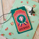 Balloon Journey travel name luggage tag