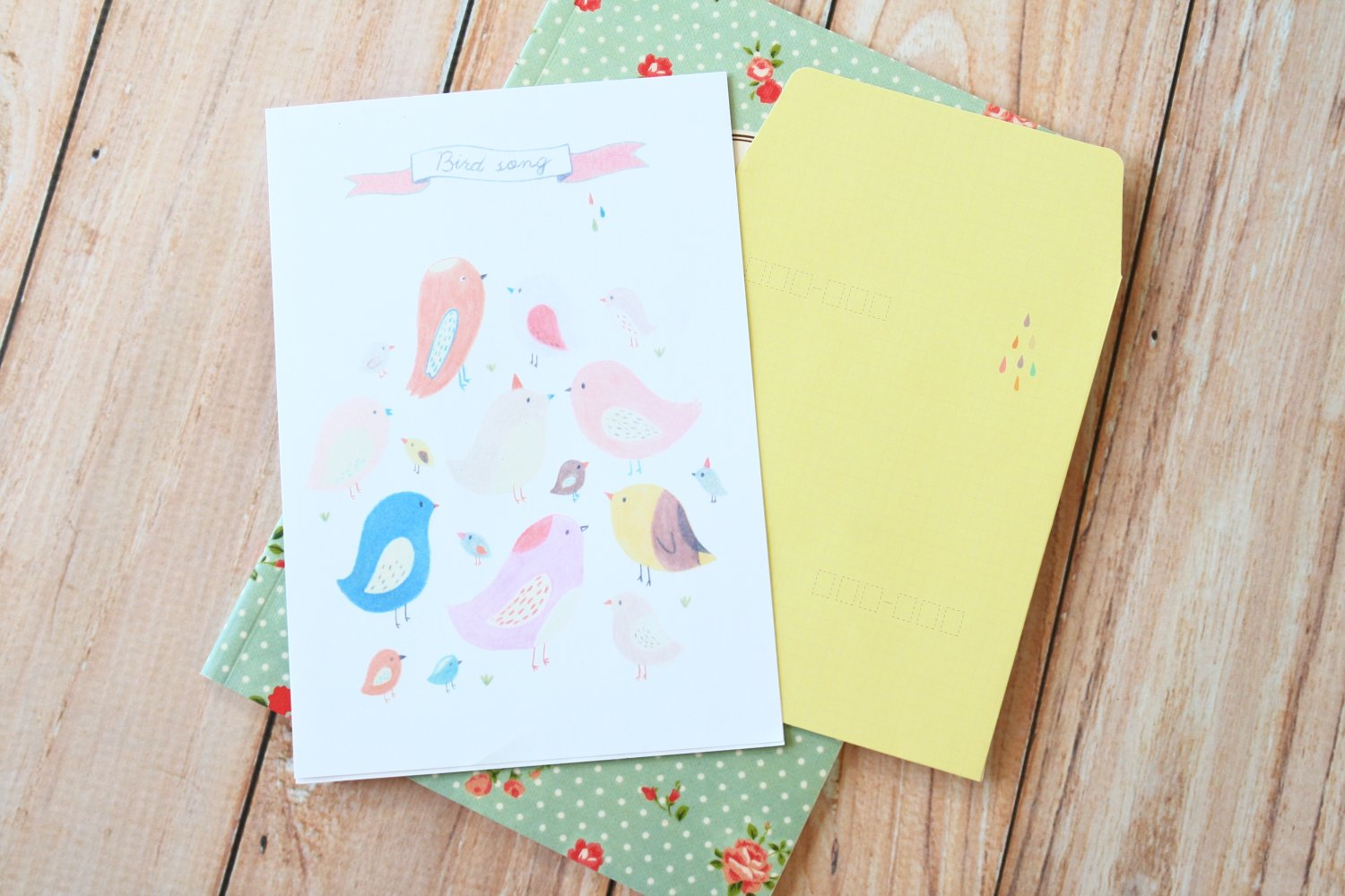 Letter writing services paper and envelopes