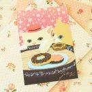 Cake Choo Choo Cat cartoon postcard