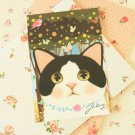 Jewelry Choo Choo Cat cartoon postcard