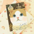 Chandelier Choo Choo Cat cartoon postcard