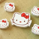 Hello Kitty Faces Mini Erasers Set