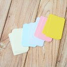 Pastel Mix blank business cards