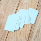 Pale Blue blank business cards