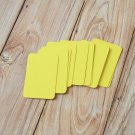 Lemon Yellow blank business cards