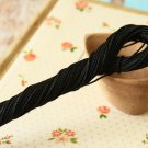 30m Black East of India Paper Twist String